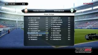 Game Modes - Pro Evolution Soccer 2013 Trailer