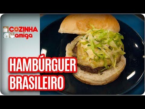 Hambúrguer Brasileiro - Chef Raquel Novais | Cozinha Amiga (06/11/17)