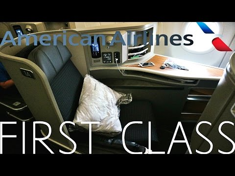 American Airlines FIRST CLASS Los Angeles To New York|Airbus A321T