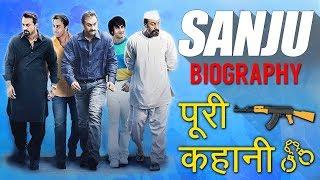 Gambar cover Sanjay Dutt Biography in Hindi | Sanju Movie Full Story