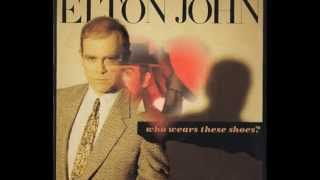 Elton John - Who Wears These Shoes? (1984) With Lyrics!