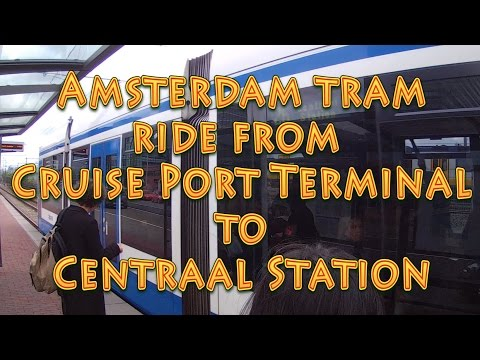Amsterdam Tram Cruise Port Terminal To Centraal Station & Back