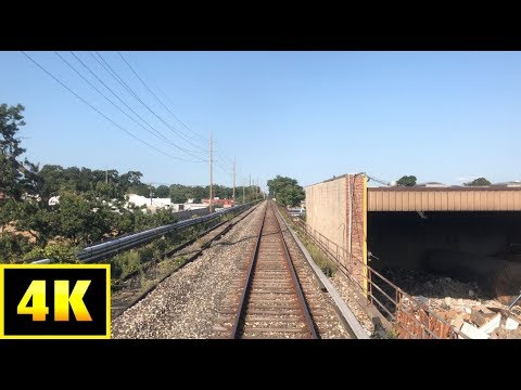 RARE! 4K LIRR: M3 Front Window Jamaica to WEST HEMPSTEAD