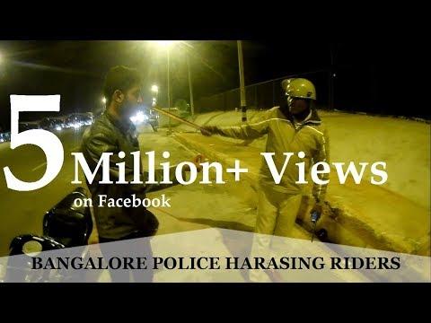 Bangalore Cops Harassing Riders | CBR 250 test Ride | True Biking Brotherhood | The Gareeb Rider