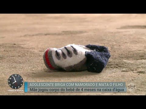 Adolescente mata o próprio filho após briga com o namorado | Primeiro Impacto (05/06/18)