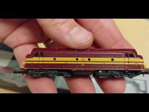 Marklin Z 88631 Test Run at z.scale.hobo 05.30.2018
