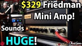 FRIEDMAN Mini BE Guitar Amplifier Head - Full Overview & Review - Friedman Mini Amp