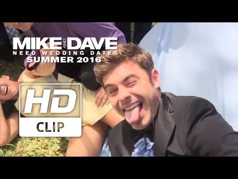 Mike And Dave Need Wedding Dates 2016.Mike Dave Need Wedding Dates Zac Efron Can T Stop Taking Selfies Official Hd Clip 2016