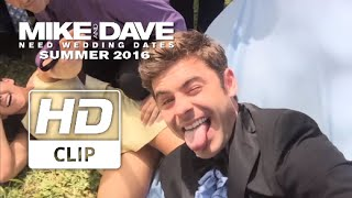 Mike & Dave Need Wedding Dates | Zac Efron Can't Stop Taking Selfies | Official HD Clip 2016