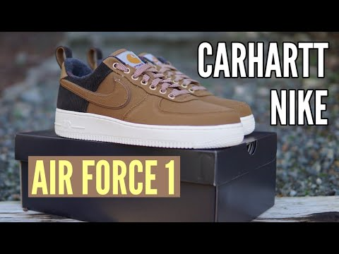 Nike Air Force 1 x Carhartt WIP On Feet Review (Now Available for Below Retail Price!)