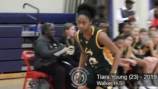 Walker vs. KIPP-Booker T. Washington - LSU signee Tiara Young drops 27 with 7 steals