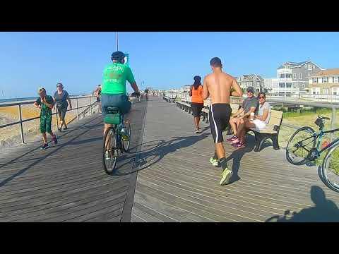 Atlantic City Boardwalk Bike Ride 8/25/2017 Part 1