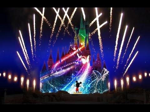 Ignite the Dream - Full Firework spectacular at Disneyland Resort, Shanghai 2017