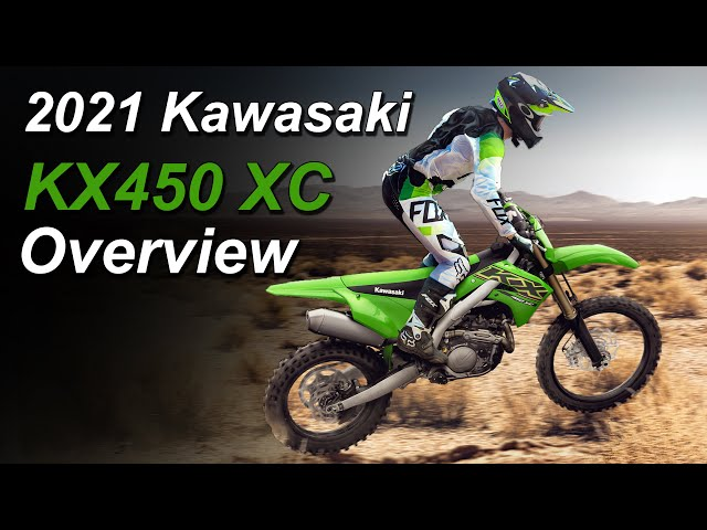2021 Kawasaki KX450 XC Announced - What's New?