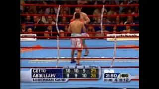 Miguel Cotto vs Muhammad Abdullaev Part 2