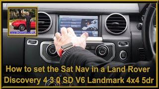 Land Rover Discovery 4 Range Rover Sport Sat Nav Pantalla AH22-10E887-BF