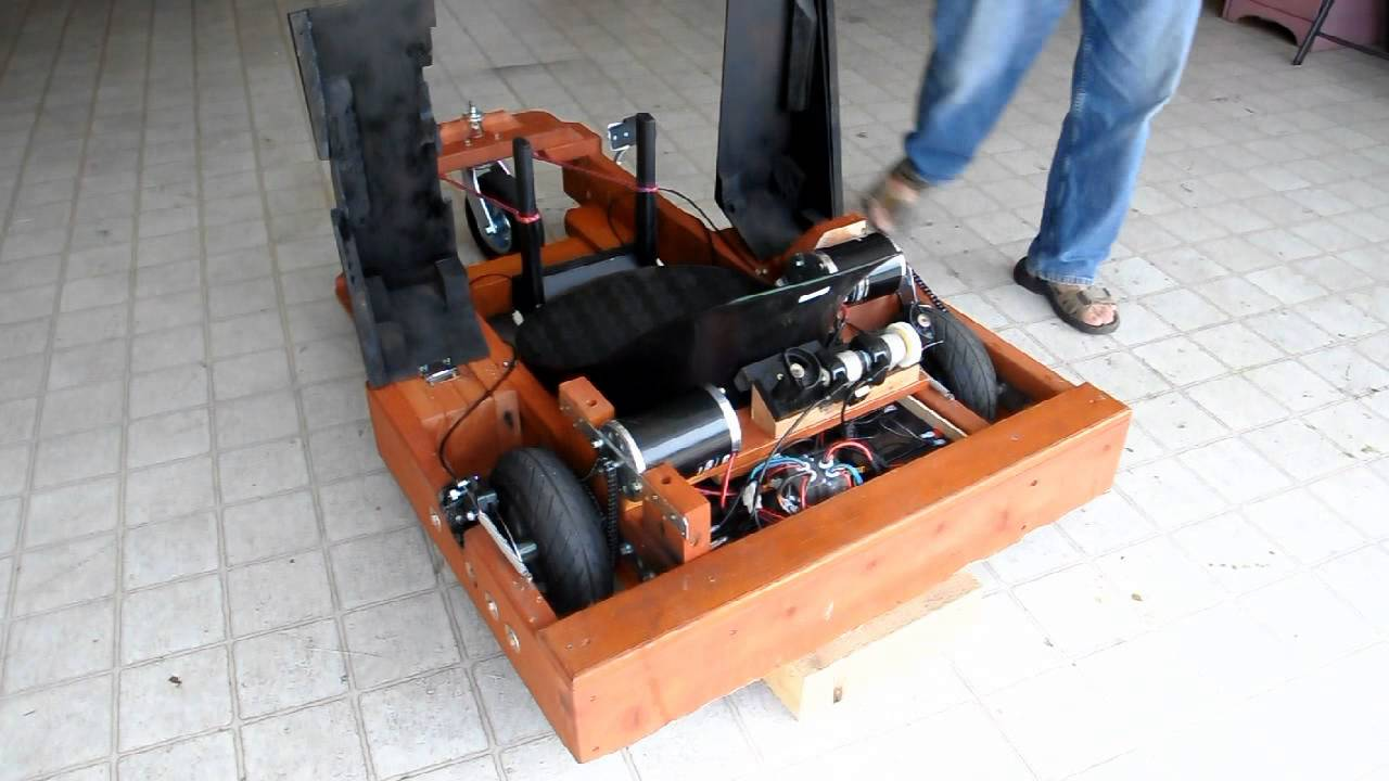 My Electric Dual Motor Wooden Go Kart With Sound Youtube