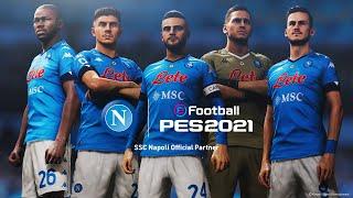 SSC Napoli x eFootball PES 2021 - Partnership Announcement Trailer
