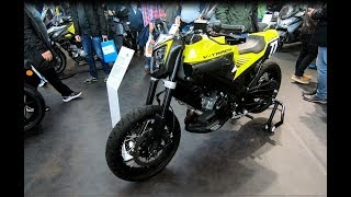 SUZUKI V-TRACK BY MELLOW MOTORCYCLES CUSTOM BIKE YOSHUMIRA EXHAUST WALKAROUND