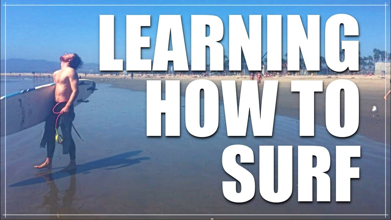 Learning How To Surf Venice Beach