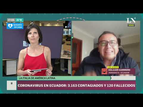 "Coronavirus en Ecuador: ""La Italia de América Latina"""