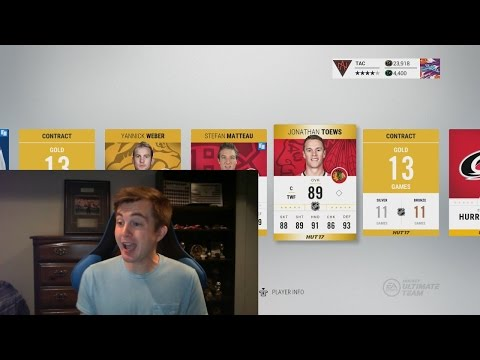 NHL 17 HUT - CRAZY PACK OPENING!! BEST PULL YET!!