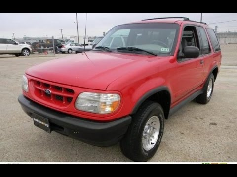 Exceptional 1998 Ford Explorer 4.0 Sport 2 Door 4x4
