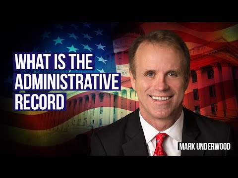 Under ERISA, what is the Administrative Record?