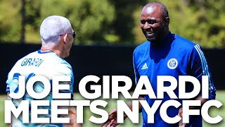 Yankees Manager Joe Girardi Meets NYCFC | INSIDE TRAINING