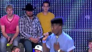 x factor usa 2012 willie jones journey to the live shows