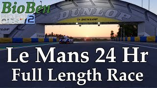 Project Cars 2 24 Hours of Le Mans Part 1 | Full Length Endurance Career Race Toyota 2018