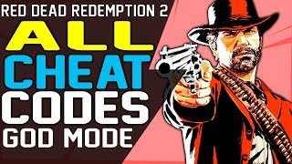Red Dead Redemption 2 CHEAT CODES - Infinite Ammo, Unlimited Health and Stamina, Increase Dead Eye