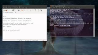 Howto install chkrootkit CLI (screen cast)