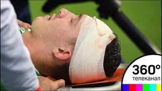 Коленом в голову: вратарь российской сборной пришёл в сознание после тяжелейшего столкновения - МТ