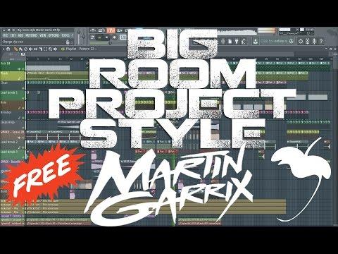 Big Room House Project Martin Garrix Style - FL Studio [FREE FLP] #8