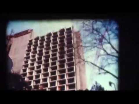 Construction Of Hilton Palacio Del Rio   San Antonio, TX 1968