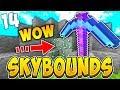 NAMING MY GOD PICKAXE! | SKYBOUNDS S2 #14 (Minecraft Skyblock)