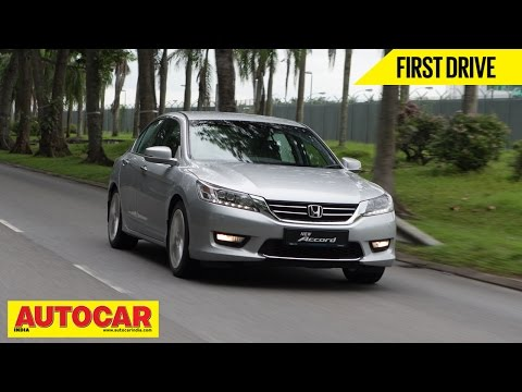 2015 Honda Accord | Exclusive First Drive...