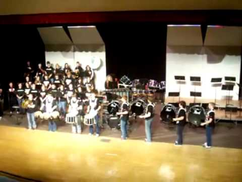 Rushville Consolidated High School Drumline- Drop the Beat