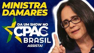 DISCURSO EMOCIONANTE DA MINISTRA DAMARES CPAC 2019