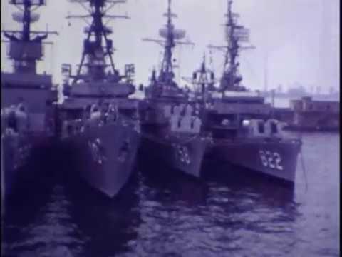 CV-59 USS Forrestal 6th Fleet Naples 1971