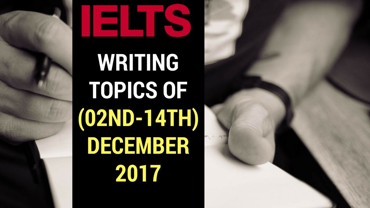 ielts academic writing task 2 topics
