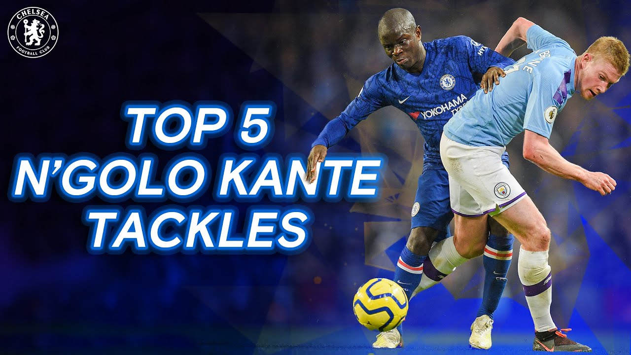 Download N'golo Kante's Defensive Masterclass | Top 5 Tackles