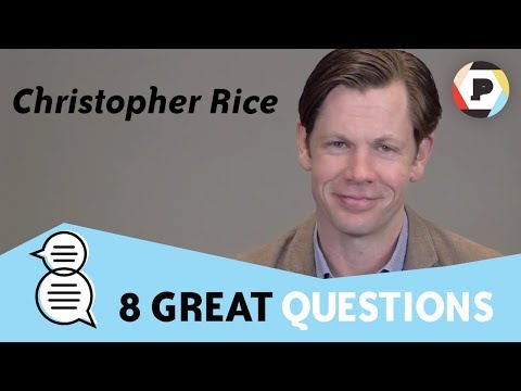 Christopher Rice (author of Ramses the Damned) | 8 Great Questions