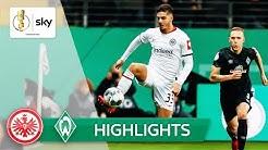 Eintracht Frankfurt - SV Werder Bremen | Highlights - DFB-Pokal 2019/20 | Viertelfinale