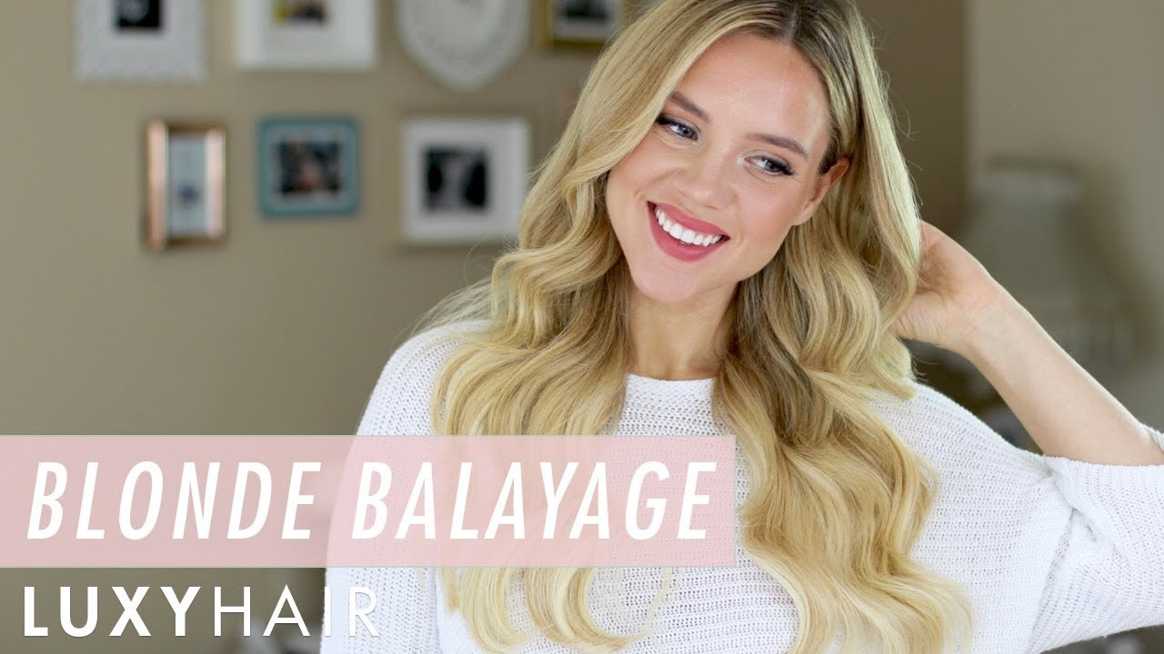 How To Get Balayage Without Bleaching Your Hair New Blonde Balayage