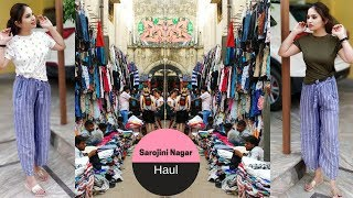 Sarojini Nagar Market Shopping Haul || Every Girl's Favourite || ₹20/30/50