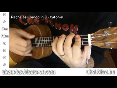 How to play Pachelbel - Canon in D on ukulele