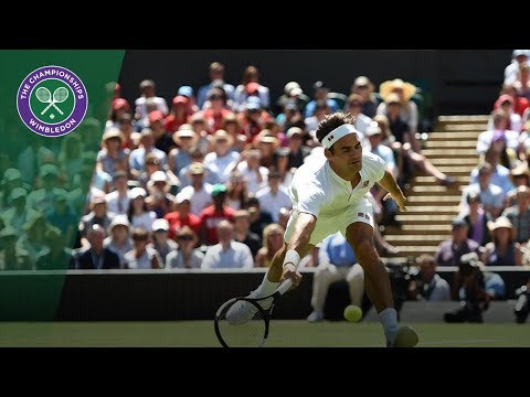 Roger Federer vs Dusan Lajovic Highlights | Wimbledon 2018