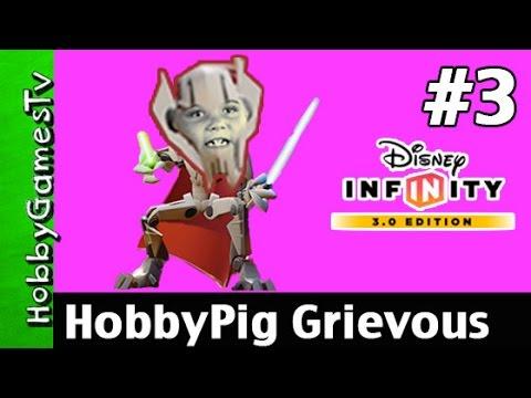 Grevious Attacks Star Wars Yoda Disney Infinity 3 0 HobbyGamesTV